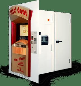 distributeur pizza - Adial